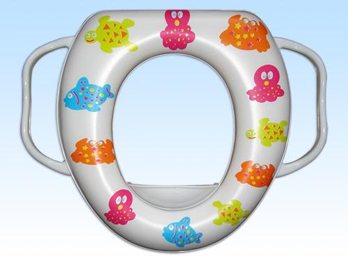 本马桶圈产品为外贸出口商品,专门为您的宝宝使用座便器而设计,在图片